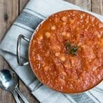 Thermomix Homemade Baked Beans - made with healthy ingredients which take no time to prepare, you can just set and forget whilst the Thermomix does all the work.