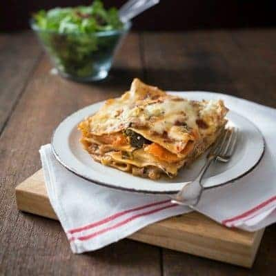 Thermomix Vegetable Lasagne
