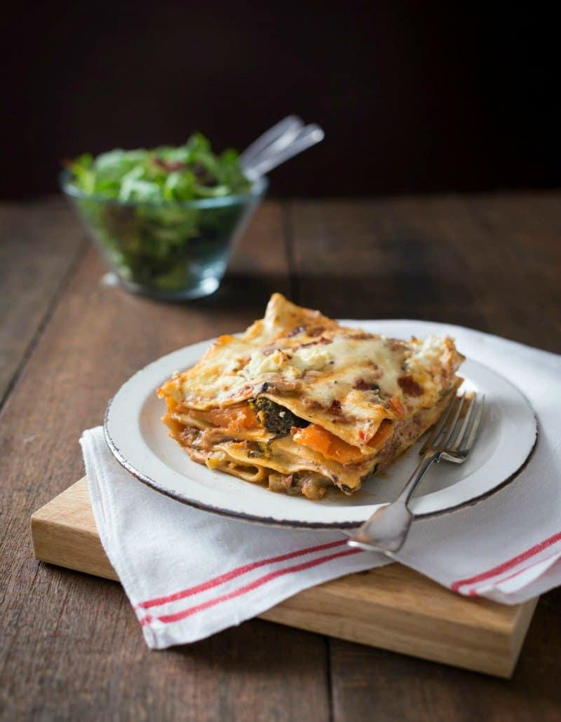 Thermomix Vegetable Lasagne - deliciously comforting and packed to the brim full of veggies.