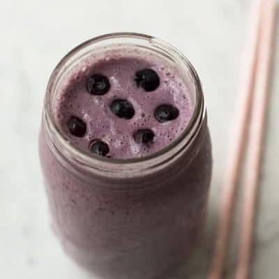 Thermomix Blueberry Breakfast Smoothie