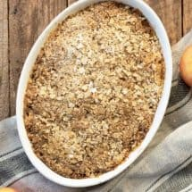 Thermomix Apple Crumble