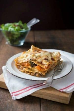 Thermomix Vegetarian Lasagne