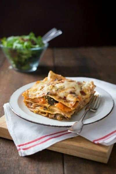 Thermomix Vegetarian Lasagne