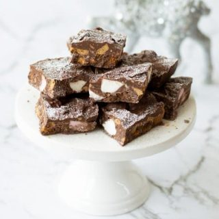 Festive Rocky Road made in the Thermomix.