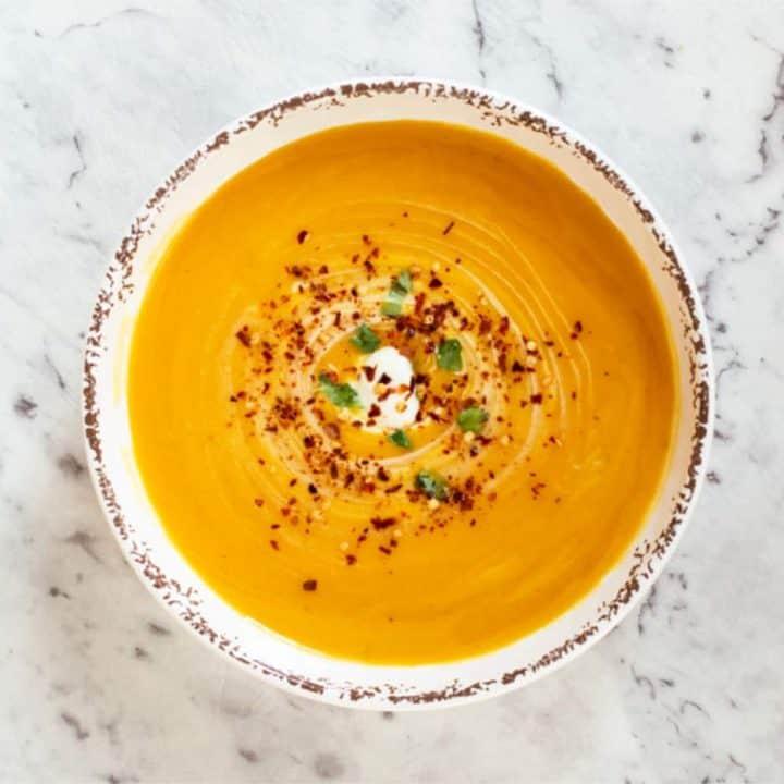 Thermomix Roast Pumpkin Soup Recipe