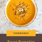 A simple recipe for Thermomix Roast Pumpkin Soup