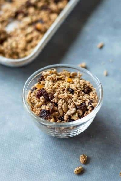 Thermomix Granola made easily in the Thermomix
