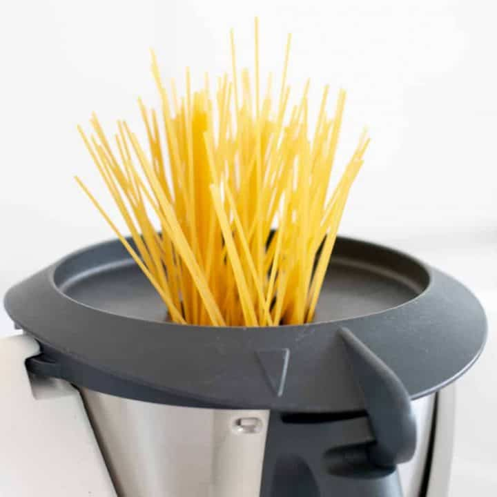 Cooking Spaghetti Pasta in the Thermomix