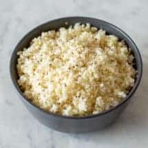Thermomix Cauliflower Rice
