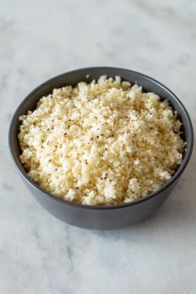 Thermomix Cauliflower Rice