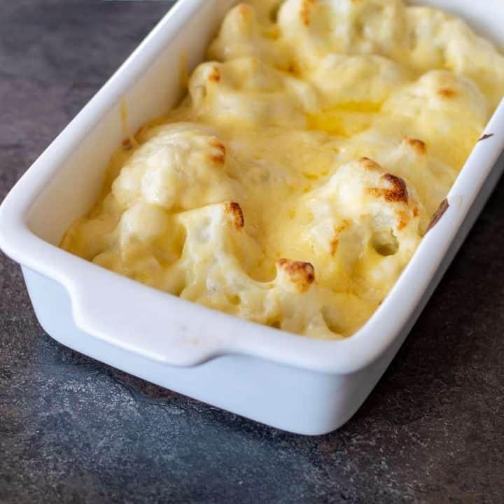 Thermomix Cauliflower Cheese Recipe