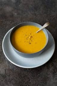Thermomix Curried Lentil & Sweet Potato Soup