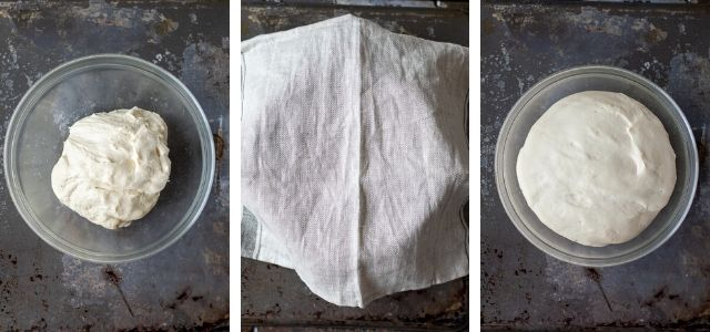 Step by step instructions on how to make Thermomix Pizza Dough