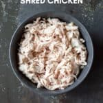Shredded Chicken in the Thermomix