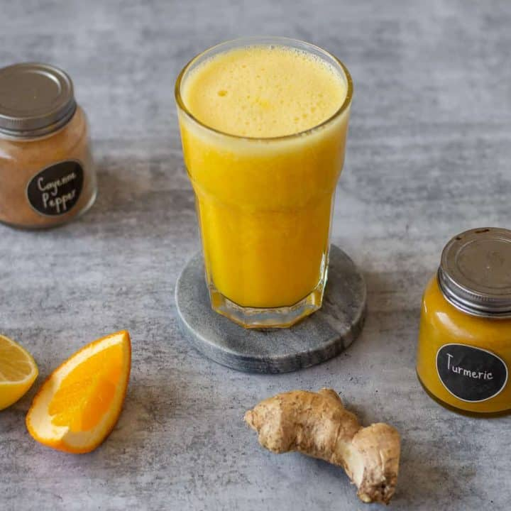 Thermomix Citrus Ginger Turmeric Smoothie