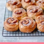 Cinnamon Rolls drizzled with Icing