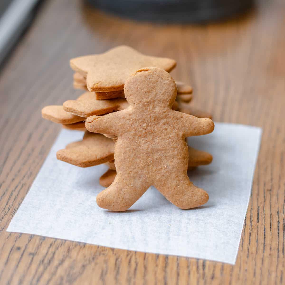 Homemade Gingerbread Men