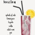 Long Island Iced Tea Graphic.
